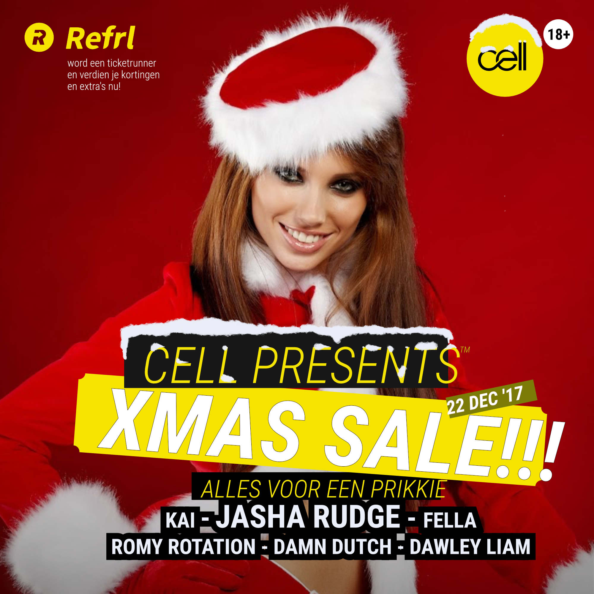 Cell presents: XMAS SALE!
