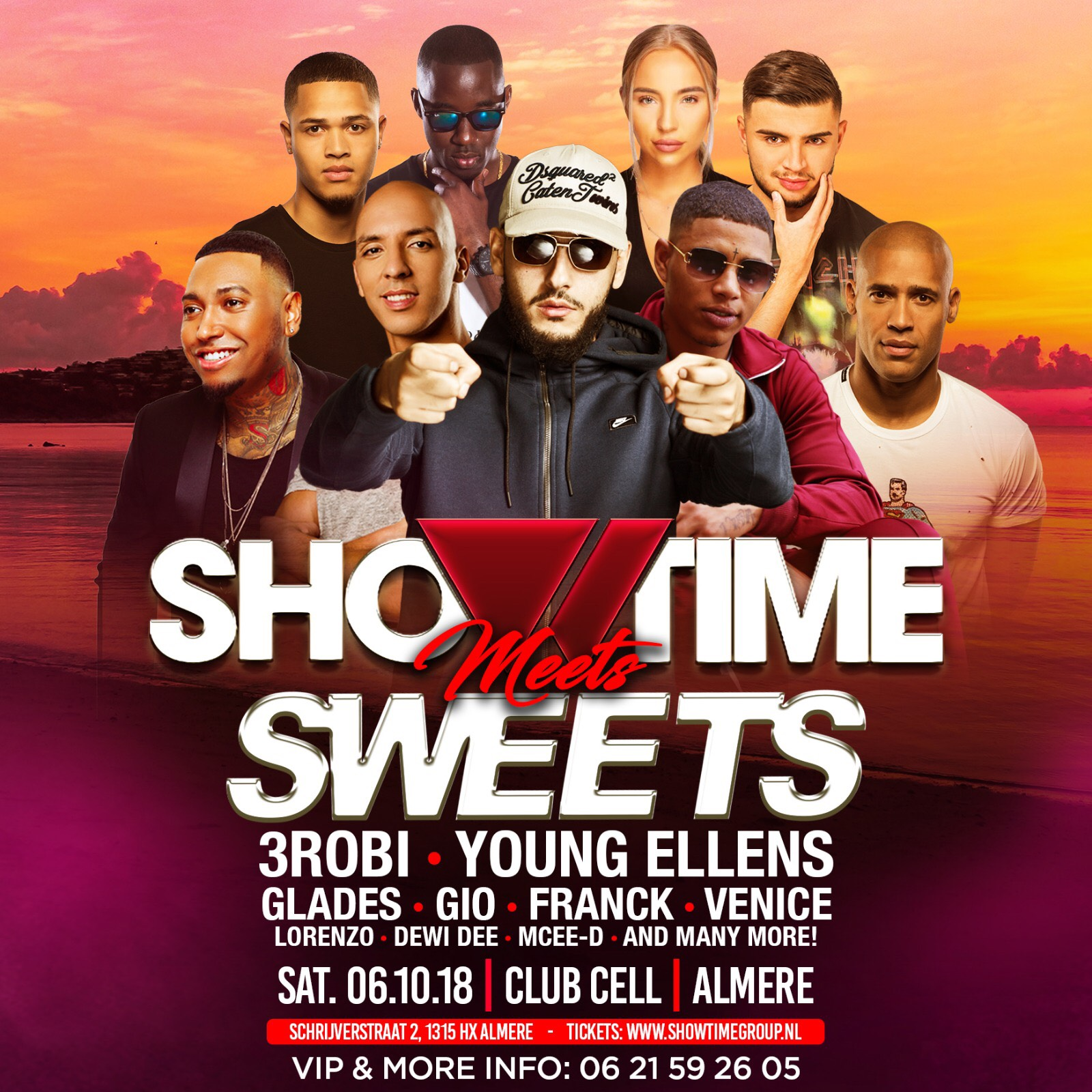 Showtime x sweets